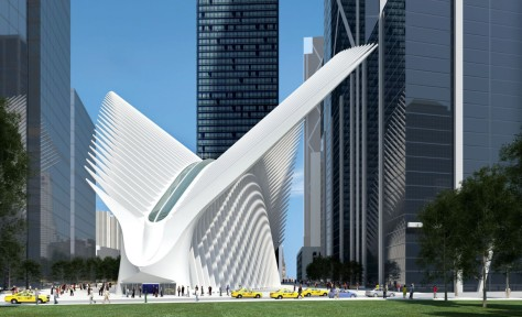 New WTC Terminal Station for Path Service