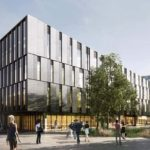 Breaks ground for new business college by Henning Larsen Architects