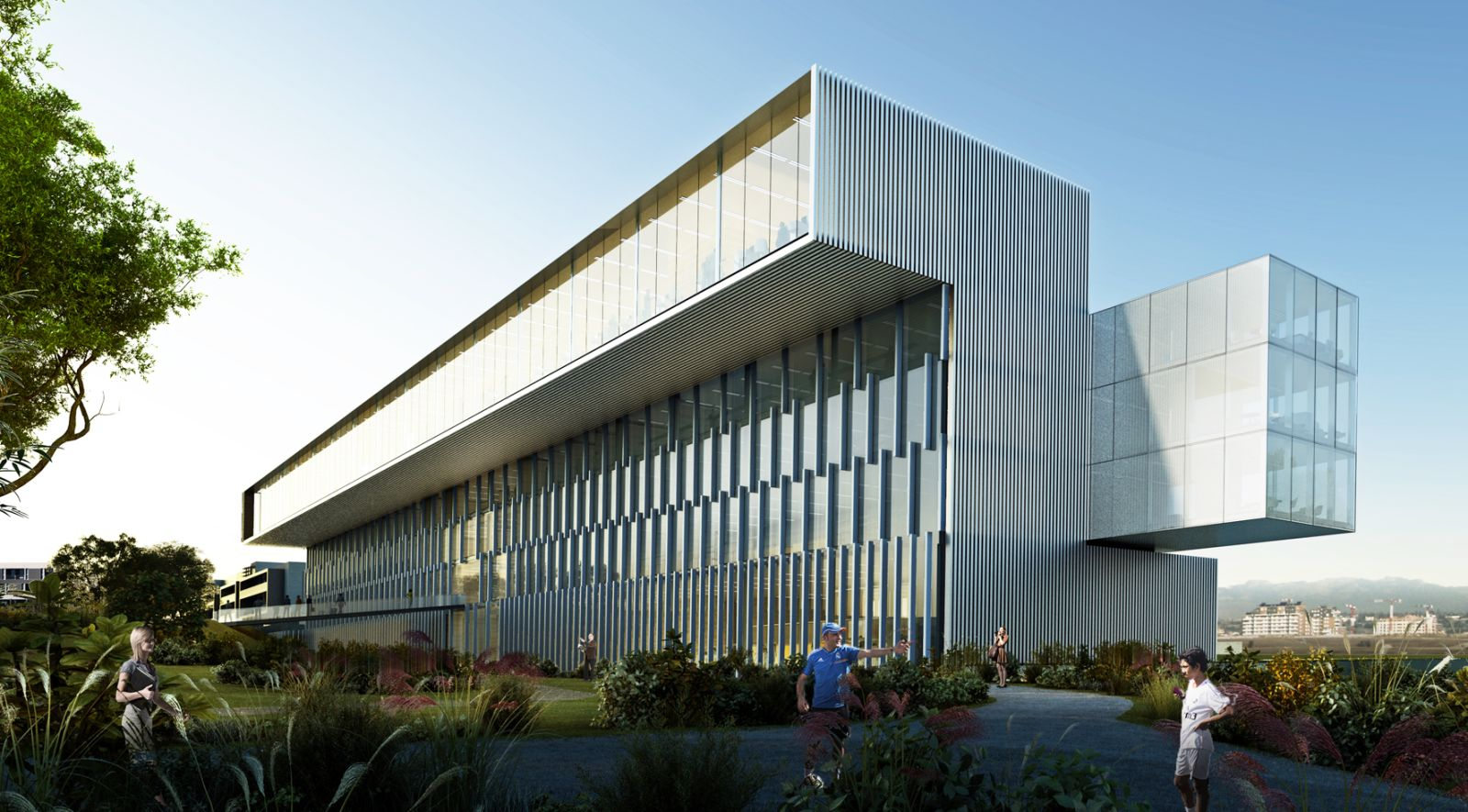 New corporate office building in ciudad real madrid by for Home office architecture