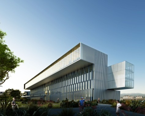 New corporate office building