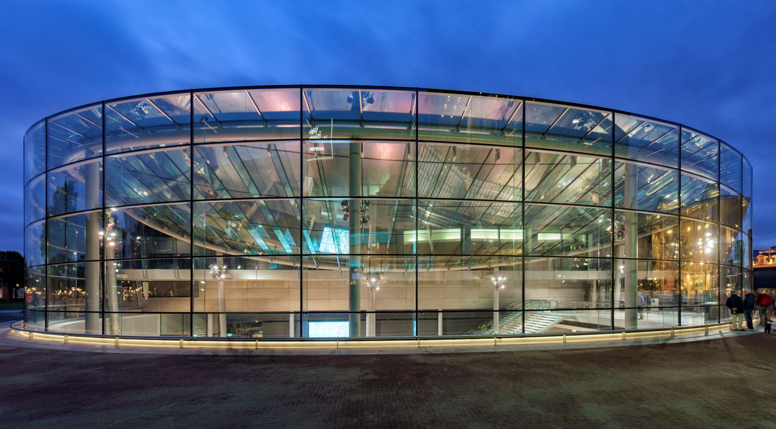 Home Design On A Budget New Entrance Hall Van Gogh Museum By Hans Van Heeswijk