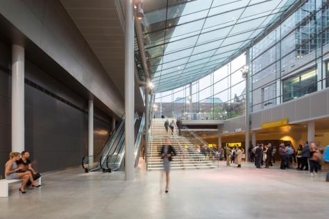 New entrance hall Van Gogh Museum