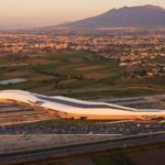 New photography marks first year of Napoli Afragola station by Zaha Hadid Architects
