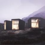 Nye Skåpet Mountain Lodges in Soddatjørn by Koko Architects