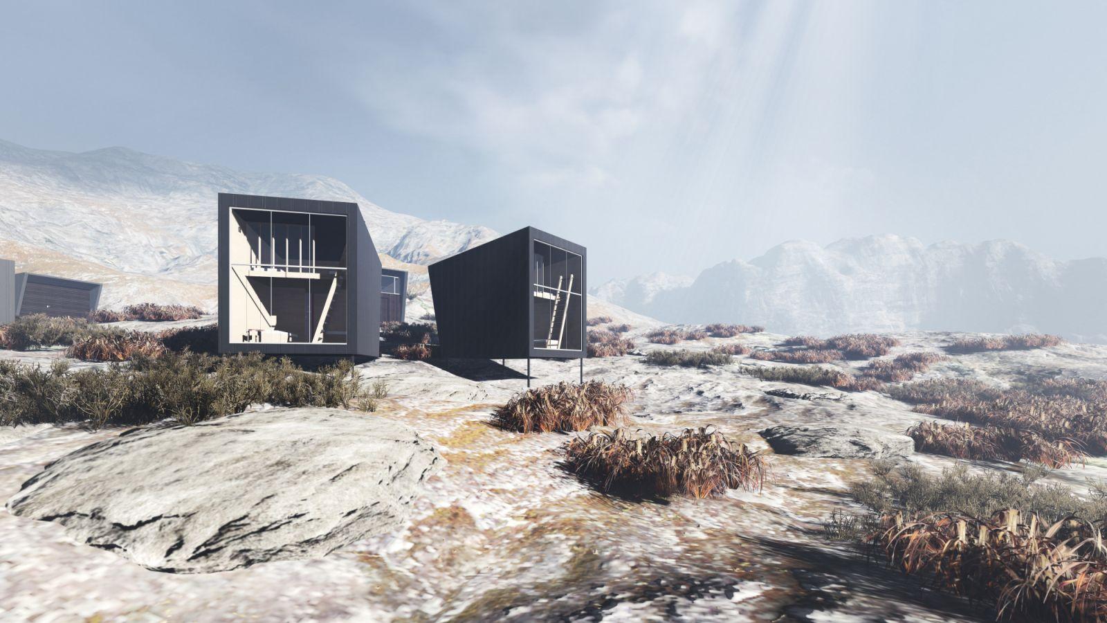 Nye Skapet Mountain Lodges In Soddatjorn By Koko Architects 05