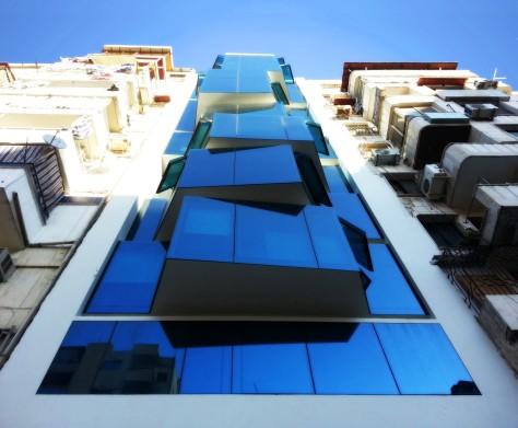 Office Building-Blue Rhythm