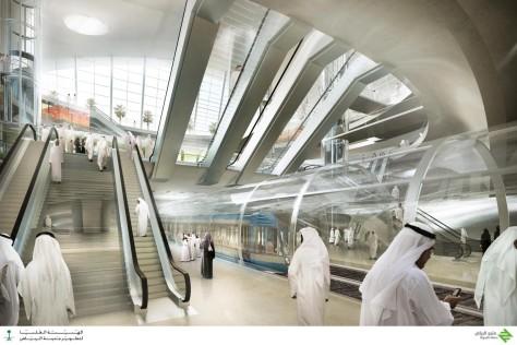 Olaya Metro Station