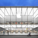 Open Apple store in China by Foster + Partners