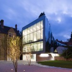 Oxford University Middle East Centre building by Zaha Hadid Architects