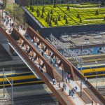 Paleisbrug pedestrian and cycle bridge by Benthem Crouwel Architects