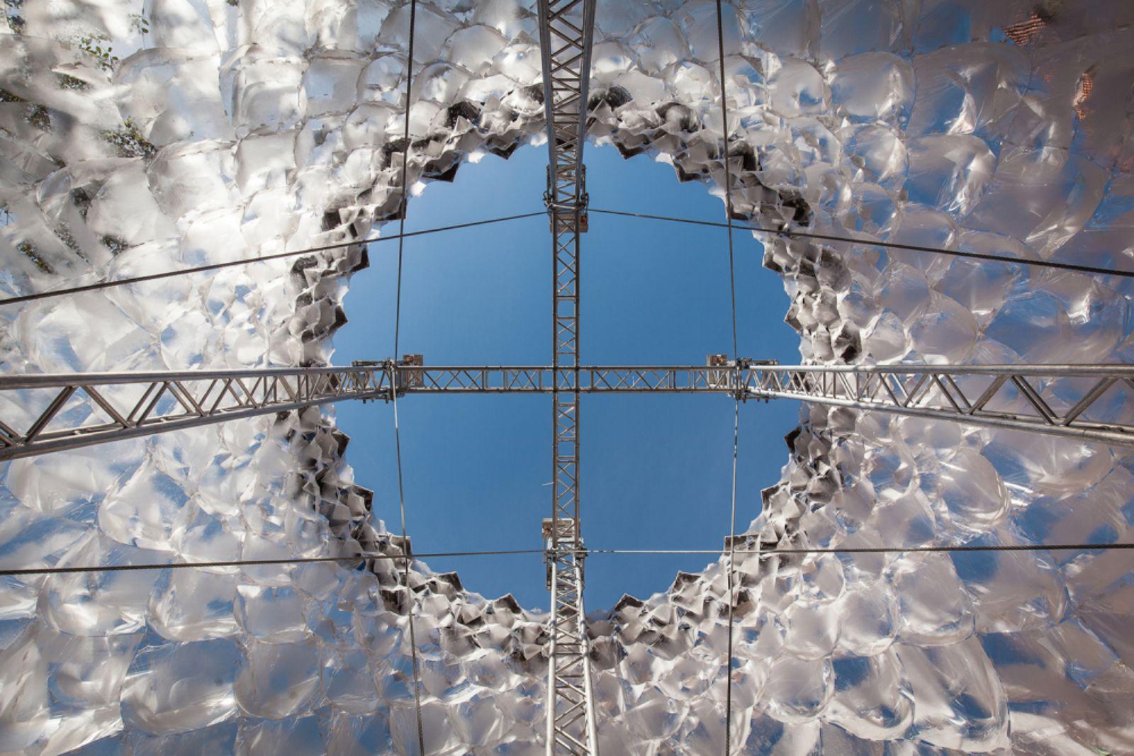 Parametric Glacier pavilion