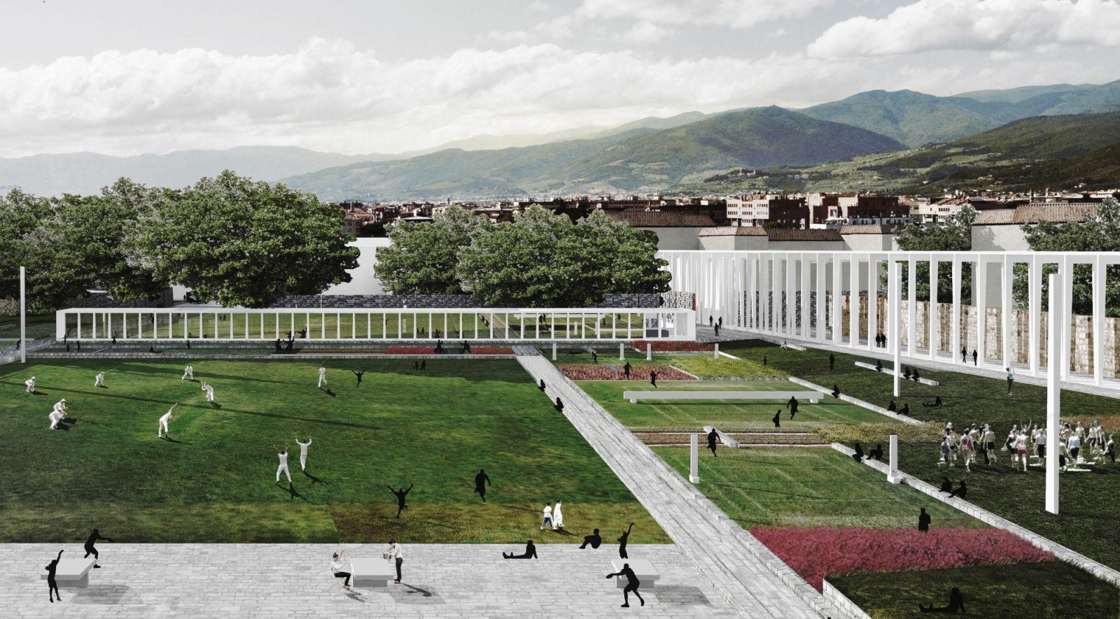 Parco centrale di Prato