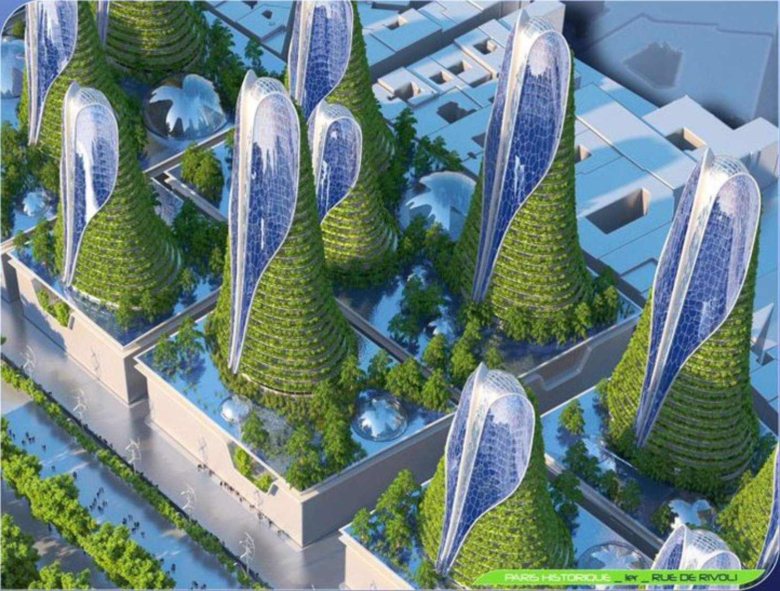 Paris smart city 2050 by vincent callebaut 04 for Architecture 2050