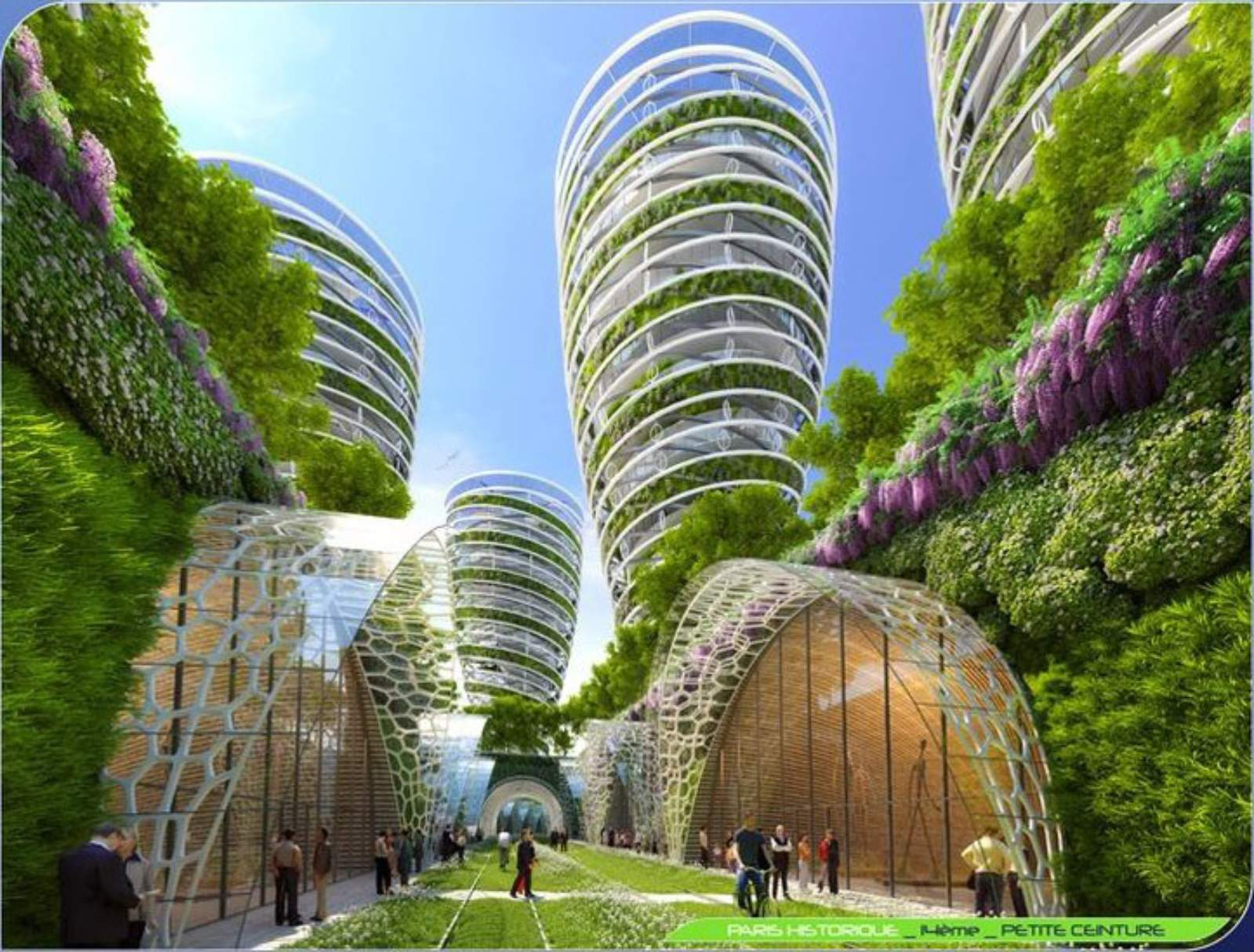 Paris smart city 2050 by vincent callebaut 05 for Architecture 2050