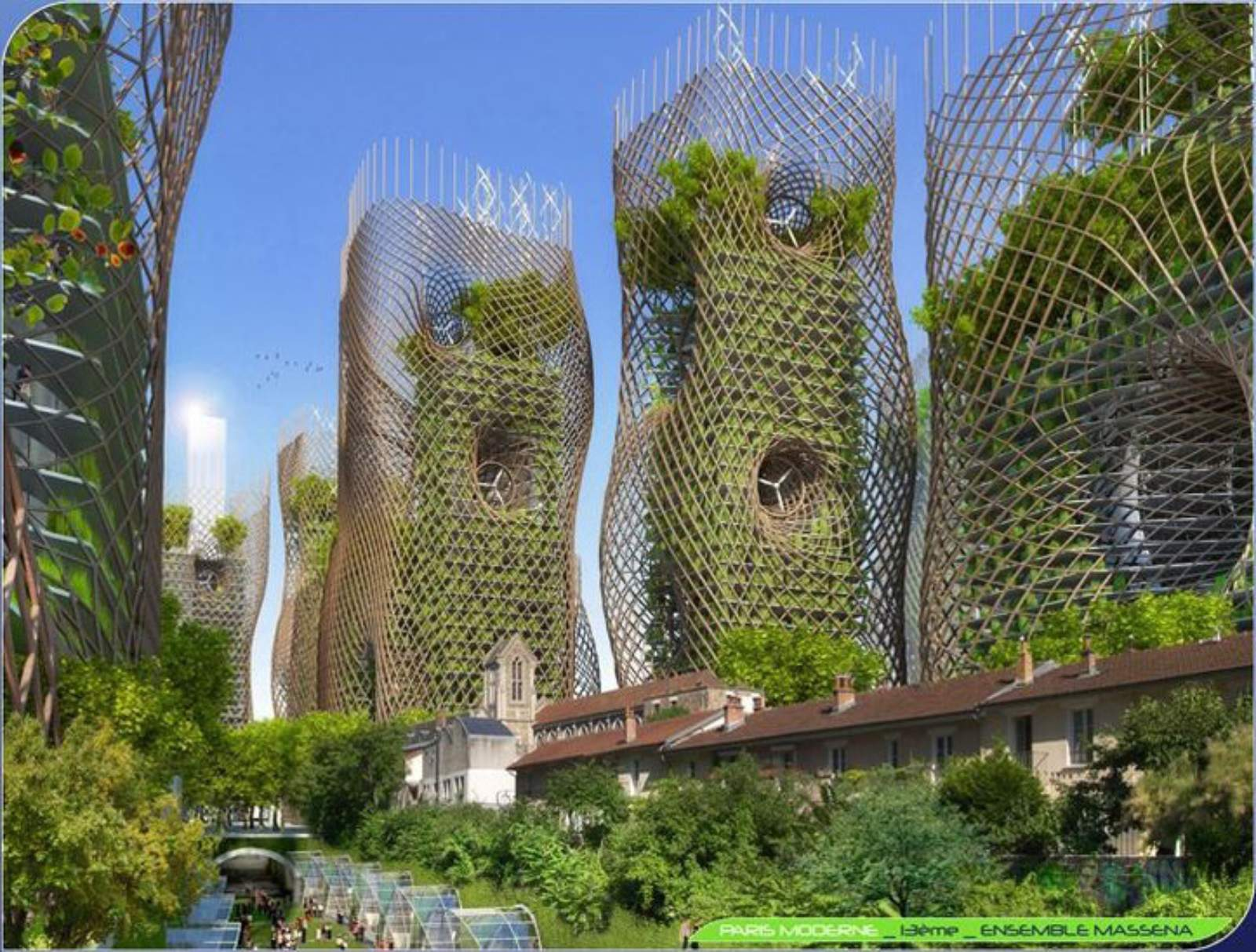 Paris smart city 2050 by vincent callebaut 09 for Architecte paris