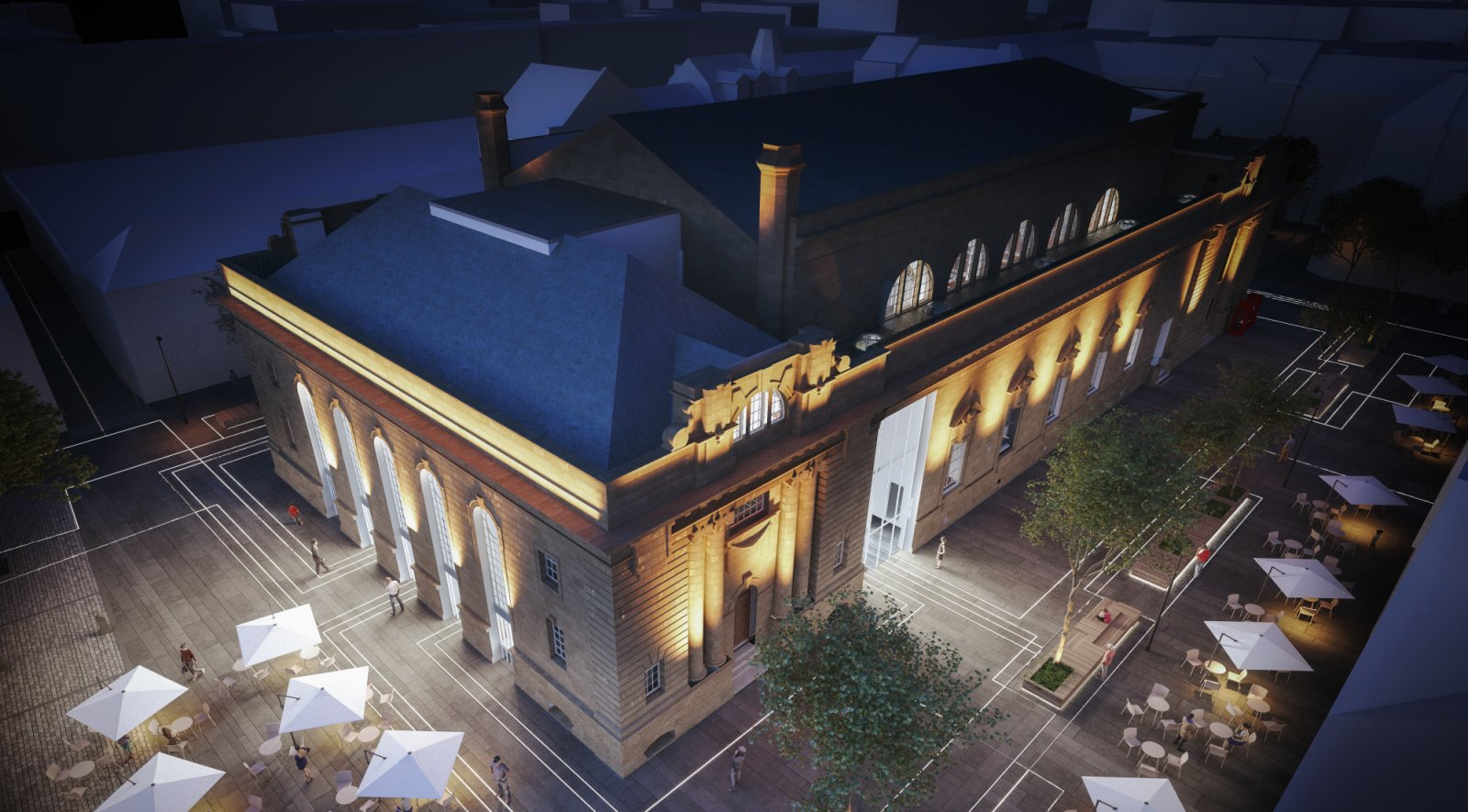 Perth City Hall renovation