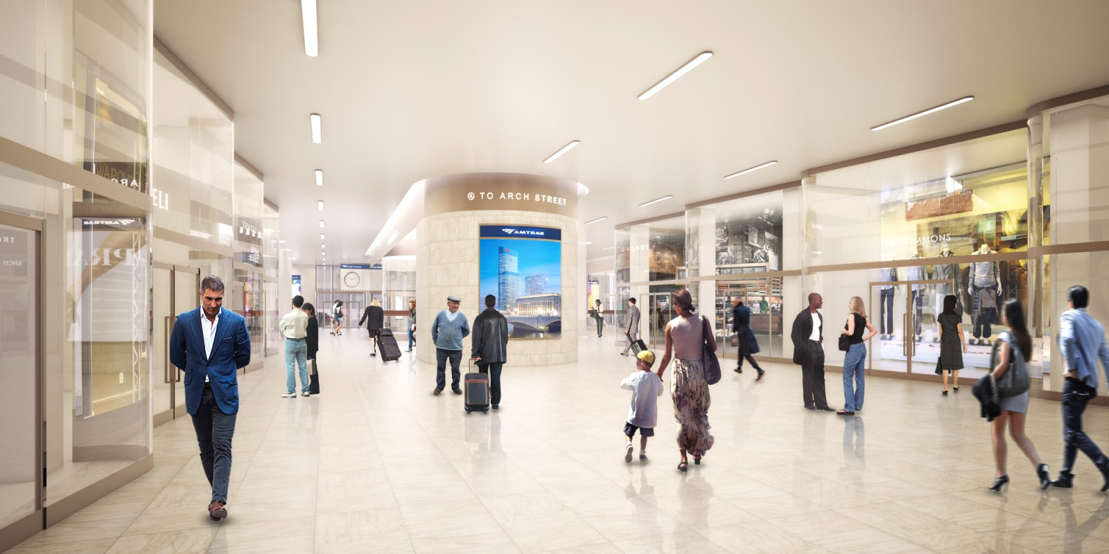 Philadelphia 30th Street Station Master Plan