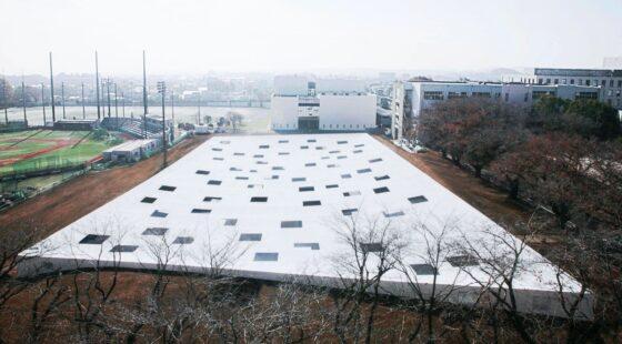 Plaza of Kanagawa Institute of Technology