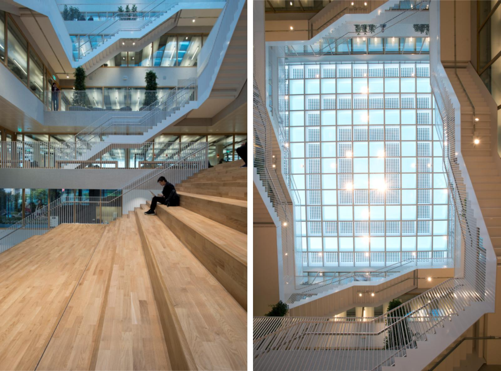 Polak Building Erasmus University Rotterdam By Paul De Ruiter Architects 10