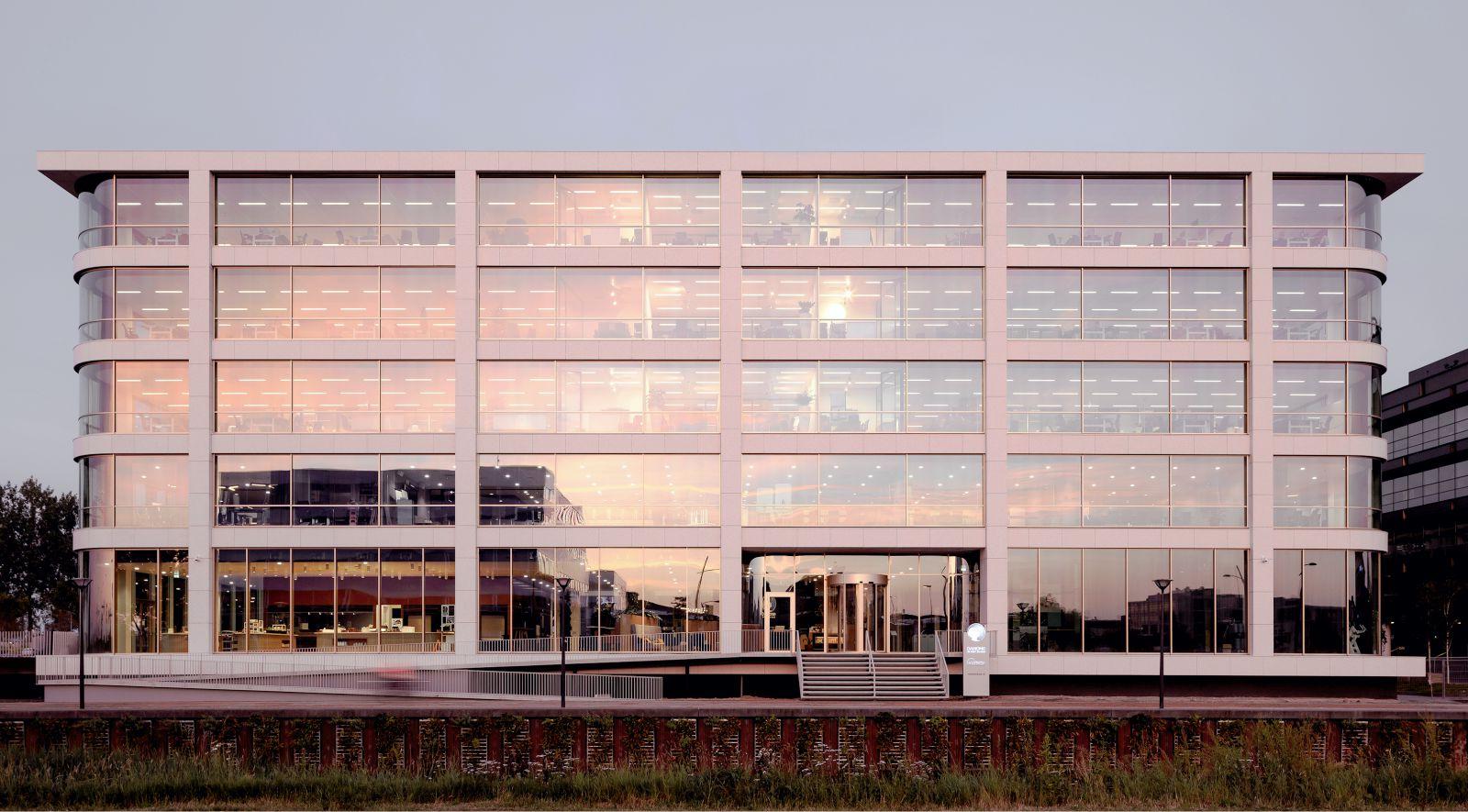 new head office Danone