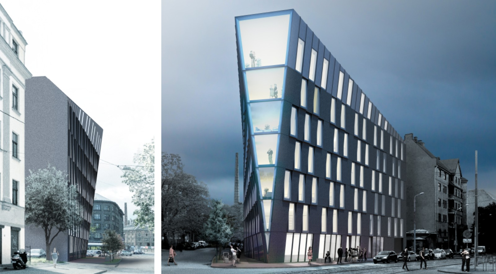 Multifunctional Office Building
