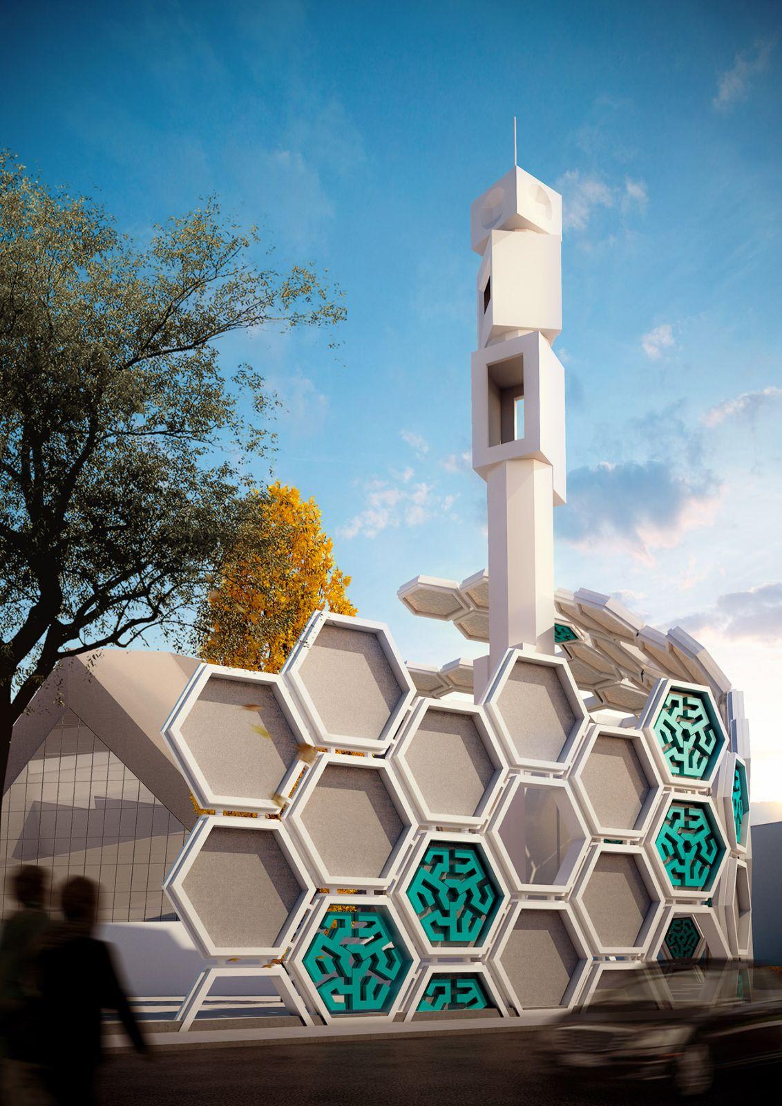 Qods Mosque Renovation