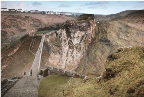 Tintagel bridge contest