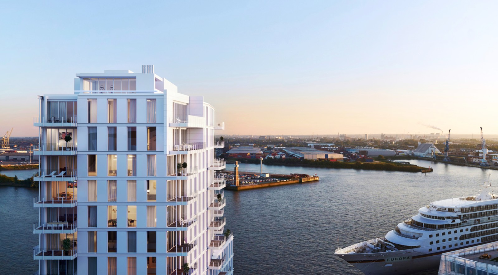 Richard meier partners designs new apartments and the - Engel and wolkers ...