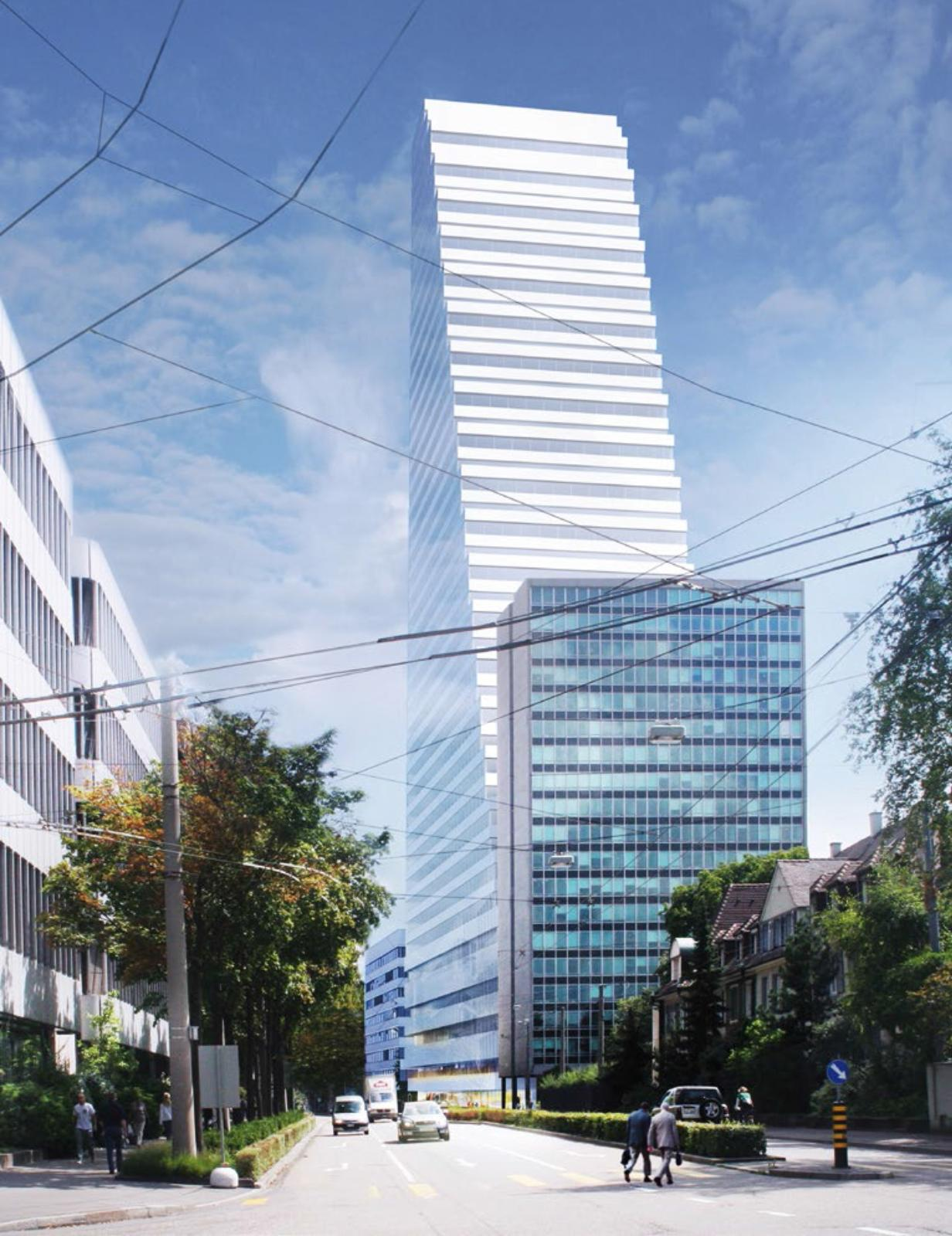 Roche opens Building 1