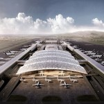 Rogers Stirk Harbour + Partners wins terminal three at Taiwan Taoyuan International Airport