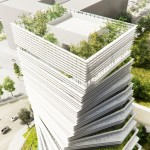 Rolex tower in Dallas by Kengo Kuma
