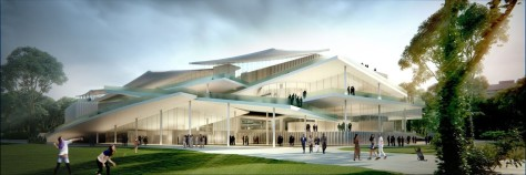New National Gallery-Ludwig Museum in Budapest