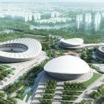 Construction of SIP Sports Center in Suzhou begins by gmp Architekten