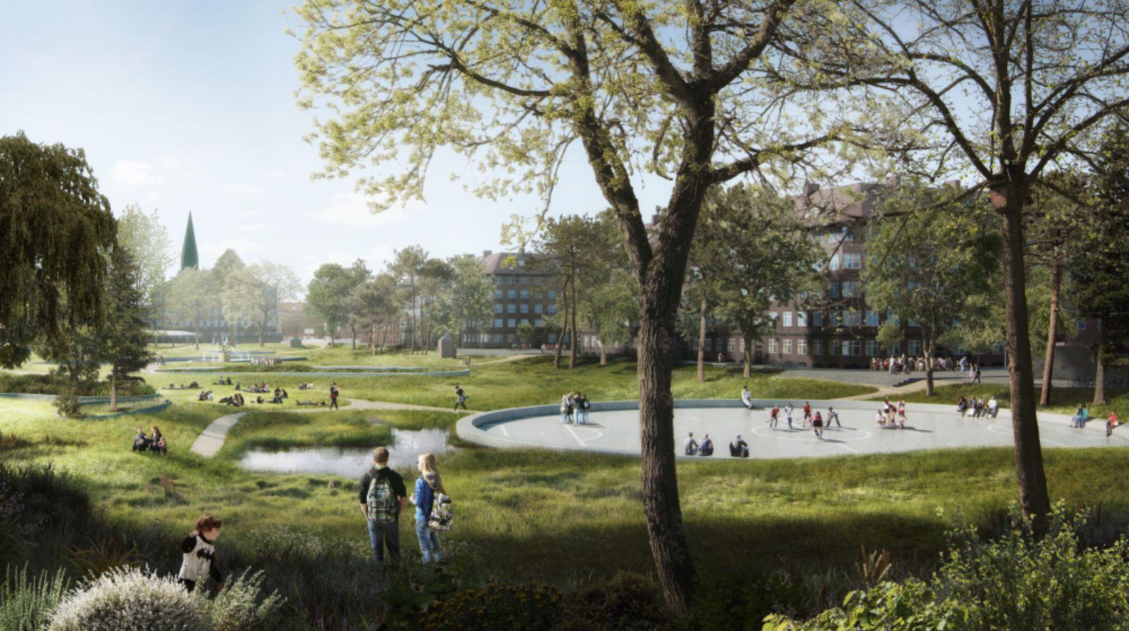 SLA wins the Nordic Built Cities Challenge Award