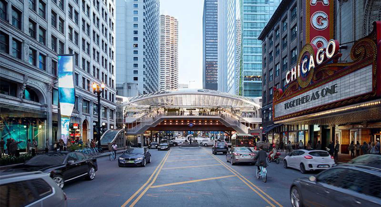Chicago's State/Lake Station