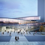 Saint-Denis Pleyel Emblematic Train Station by Kengo Kuma