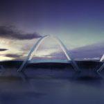 San Shan Bridge by Penda