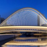 Santiago Calatrava designs three Bridges in Huashan