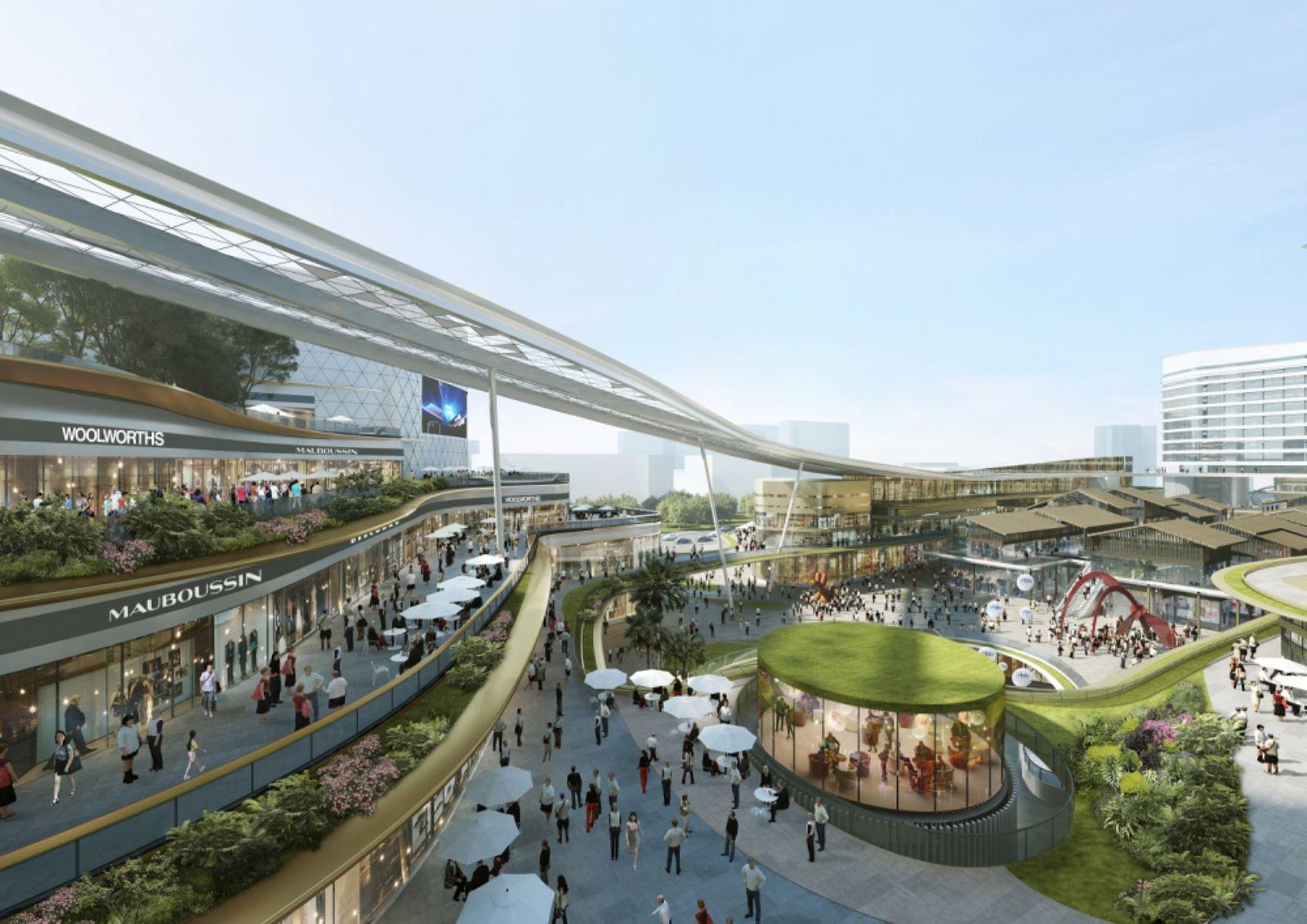 Sanya Integrated Commercial and Transportation Hub