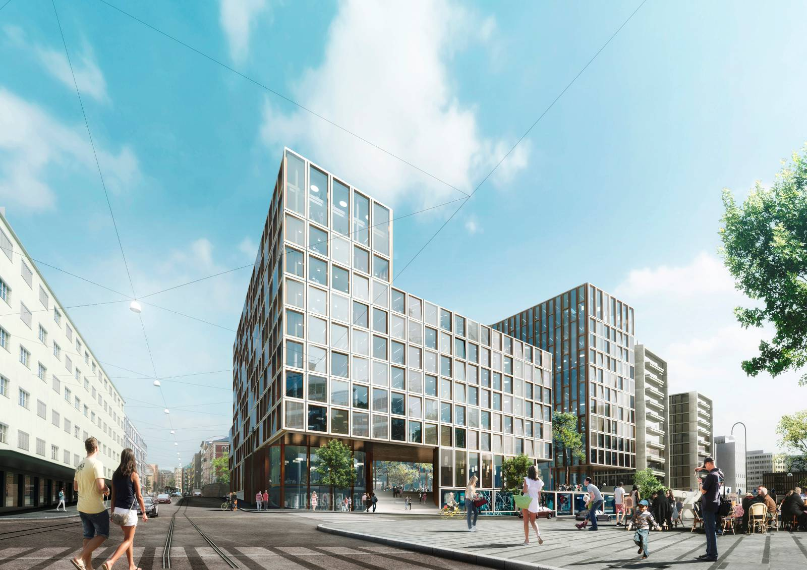 Large Project in Downtown Oslo
