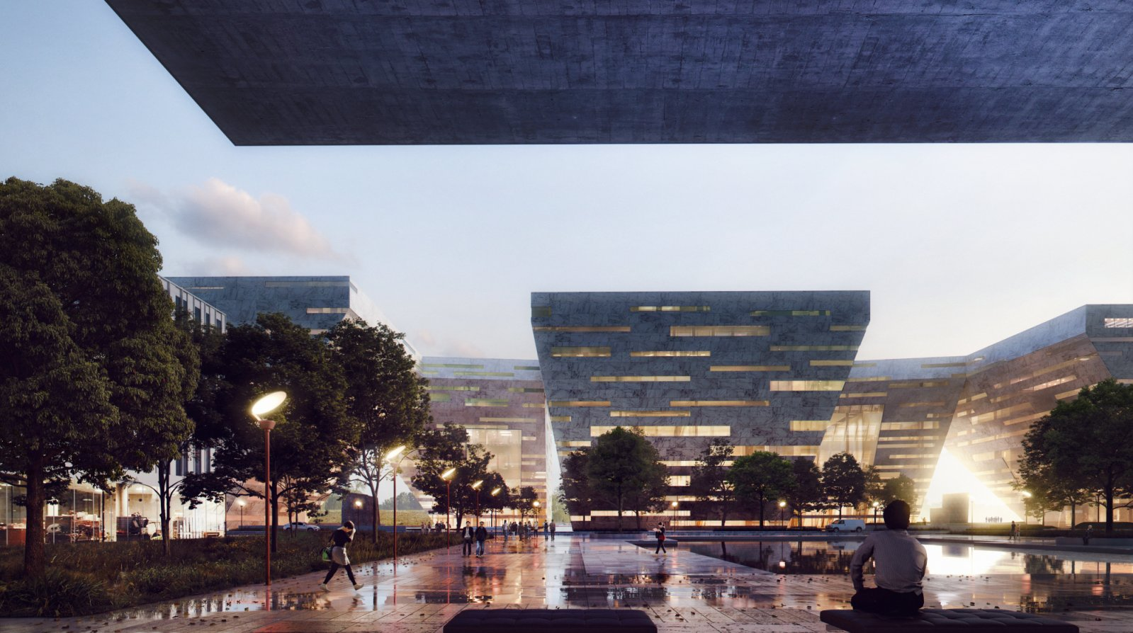 new Cultural Center in Foshan