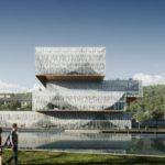 Schmidt Hammer Lassen Architects win design competition Student Centre & Library for Wenzhou-Kean University