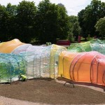 First Images of Serpentine Pavilion by SelgasCano