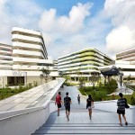 Singapore University of Technology & Design by UNStudio and DP Architects