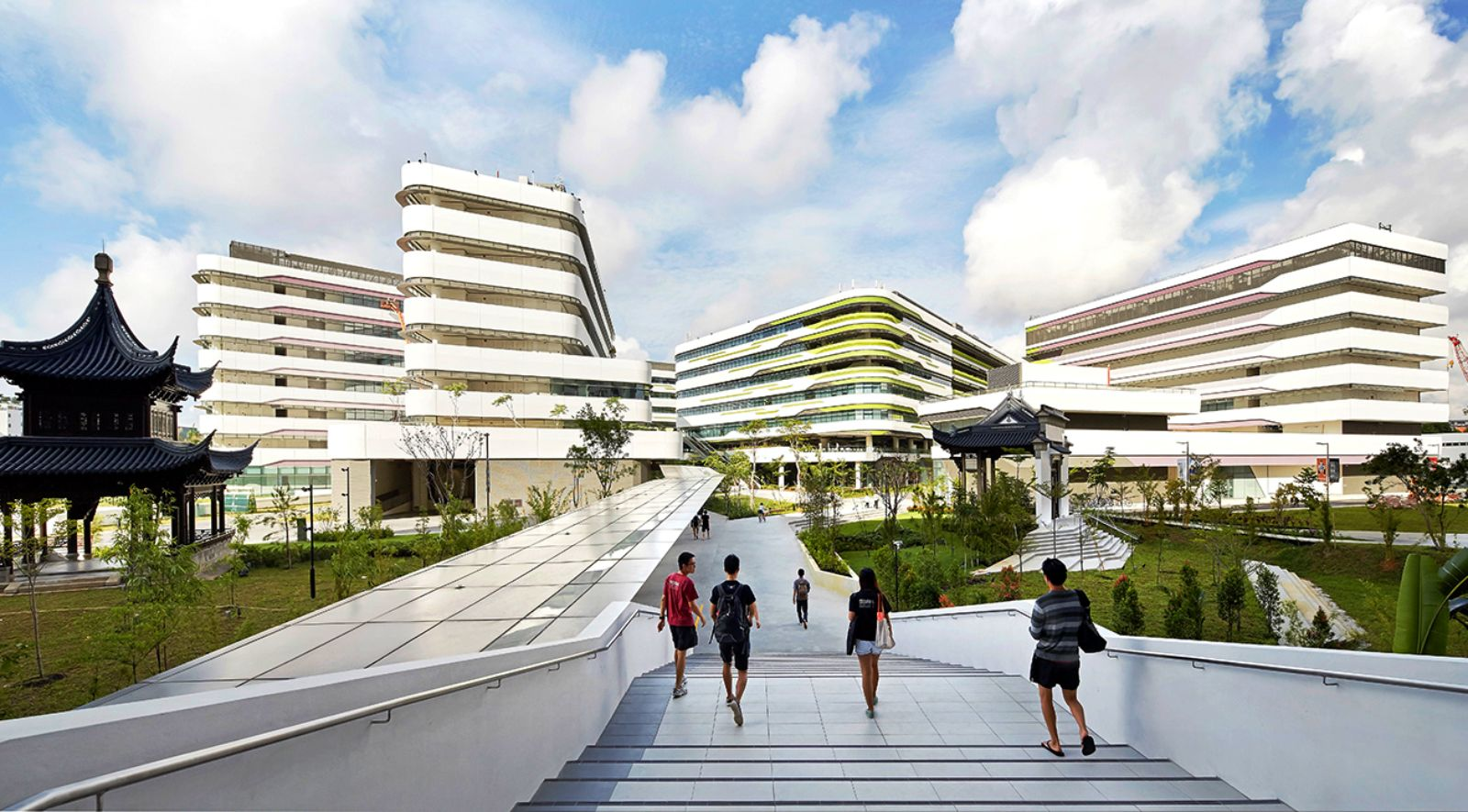 Singapore university of technology design by unstudio for Architecture and design