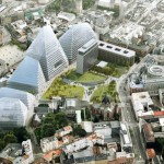 Six proposal for redevelopment of Norway's state government complex