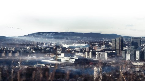 redevelopment of state government complex of Norway