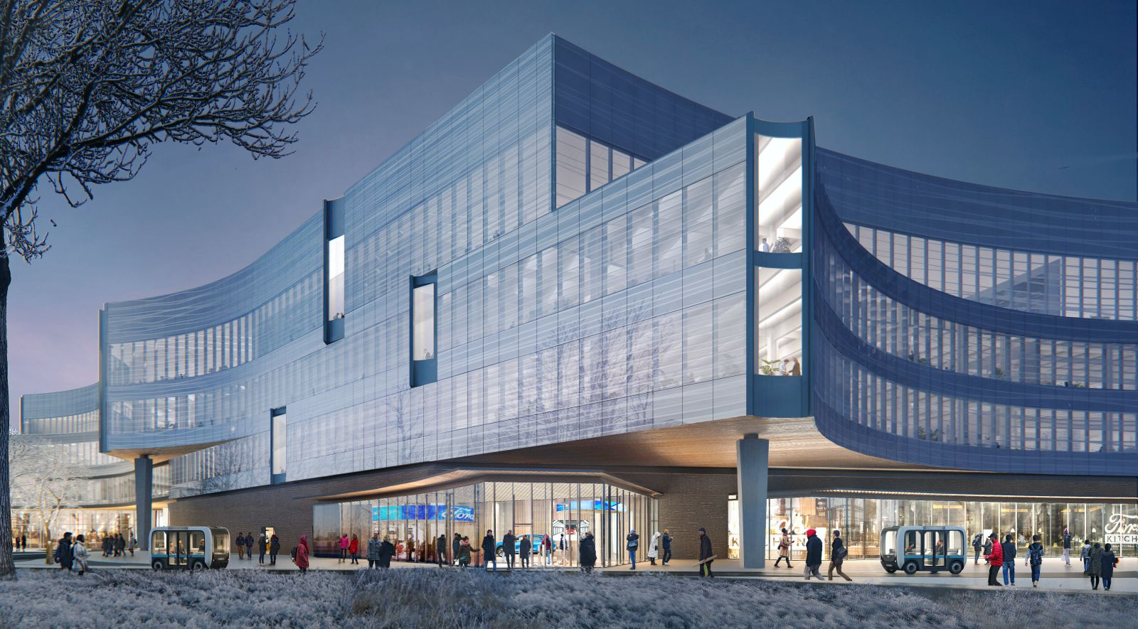 Ford New Central Campus building
