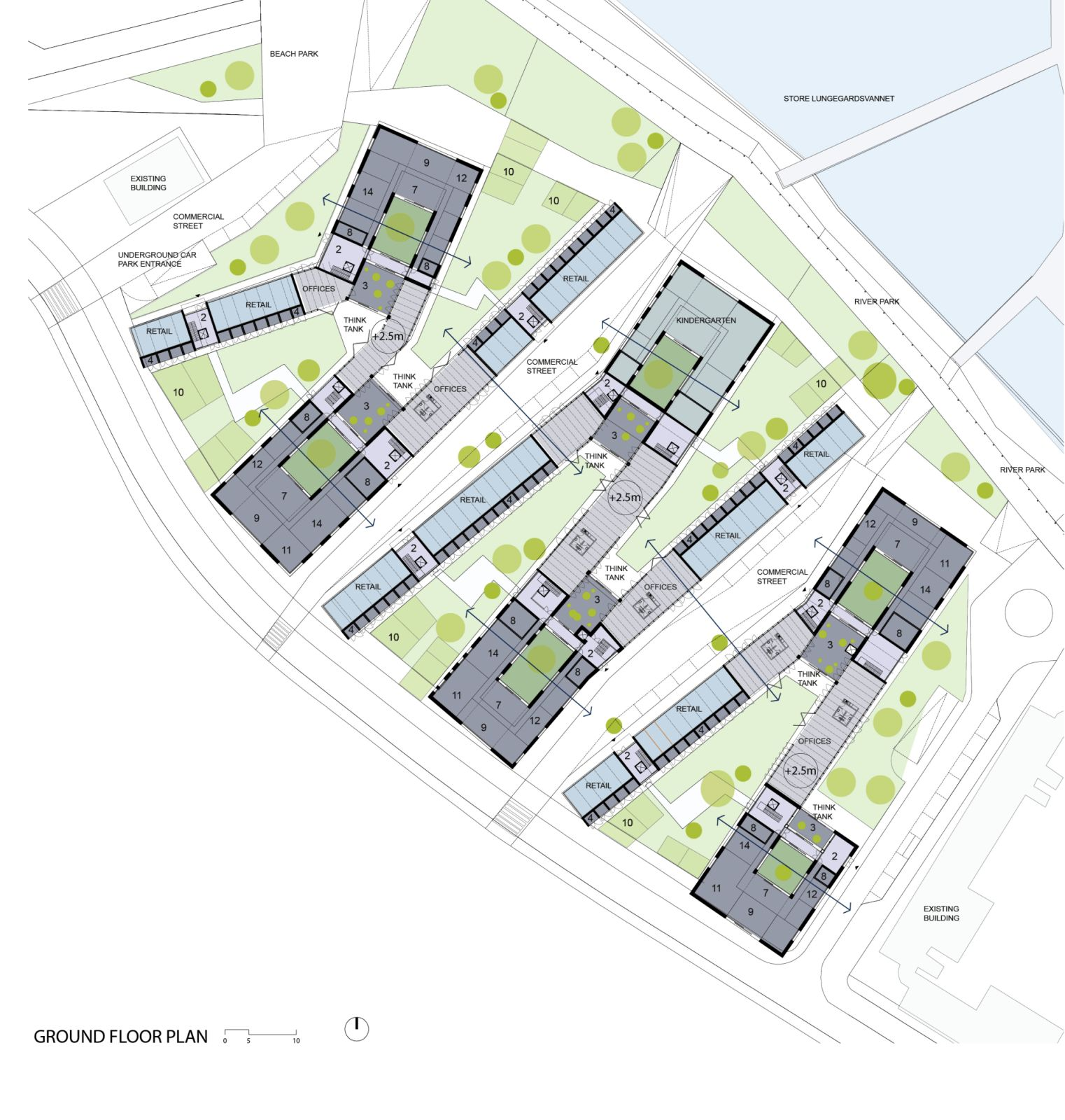 Social housing in bergen by rabatanalab 09 for Home plan architect