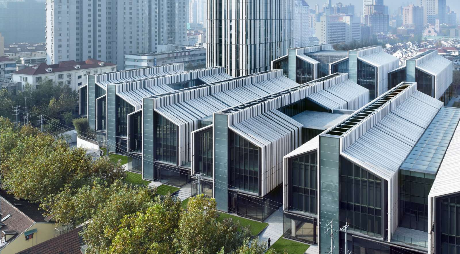 Soho fuxing lu shanghai by gmp architekten 00 for Architecture 00